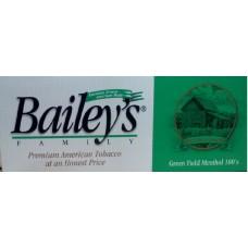 BAILEY'S GREEN FIELD MENTHOL