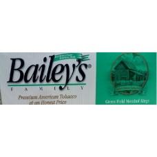 BAILEY'S GREEN FIELD MENTHOL 100'S