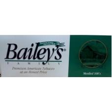 BAILEY'S MENTHOL 100'S
