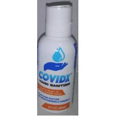 COVIDX HAND SANITIZER LIQUID 24-2oz Display