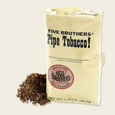 FIVE BROTHERS PIPE TOBACCO 1.25oz POUCHES/5ct