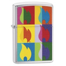 ZIPPO 29623 Abstract Flame Design $23.95