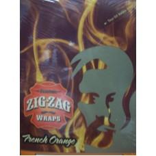 ZIG-ZAG WRAP French Orange 25/2pk