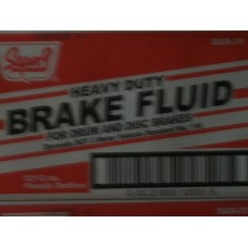 SuperS Brake Fluid 12oz/12