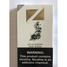 Z-ICE PODS ZIIP ICED BLUEBERRY 1ml 5%/10ct
