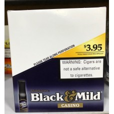 BLACK & MILD CASINO 10-5pk $3.95 **Promtion**
