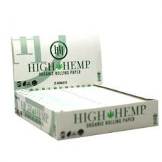 HIGH HEMP ORGANIC ROLLING PAPERS King Size  25ct display