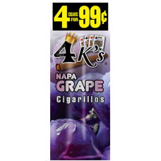 4 K'S cig Napa Grape /15-4pk-99c
