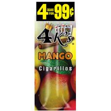 4 K'S cig Mango/15-4pk-99c