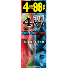 4 K'S cig Melon Berry /15-4pk-99c