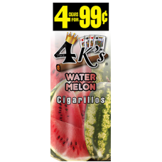 4 K'S cig Watermelon /15-4pk-99c