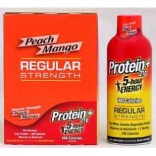 5 Hour Protein+ Regular Peach Mango 6oz / 6pk