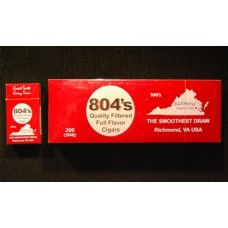 804's Full Flavor Filtered Cigars