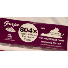 804's Grape Filtered Cigars
