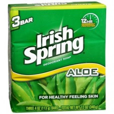 IRISH SPRING ALOE/ 12PK