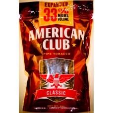 AMERICAN CLUB CLASSIC FULL FLAVOR PIPE TOB FULL FLAVOR 6oz (red)