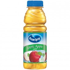 OCEAN SPRAY APPLE JUICE /12-15.2oz BOTTLES