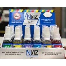 Nviz 24-7 Fragrance Collection Spray & Burning Oil Combo/24ct