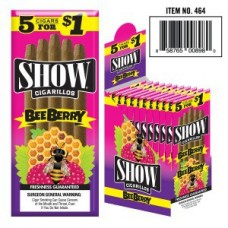 SHOW CIGARILLOS 5 FOR $1 BEE BERRY