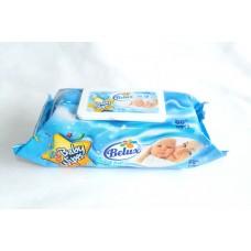 BELUX BABY WIPES BLUE 80ct / 1 BAG