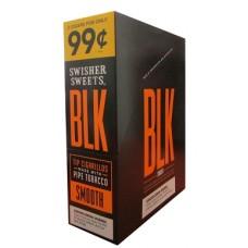 SS BLK SMOOTH TIP CIGARILLOS 15/2PK 99c
