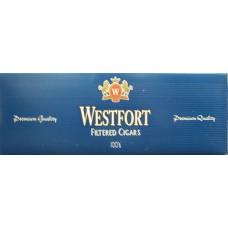 WESTFORT CIGARS BLUE 100 BOX
