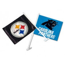 NFL CAR FLAG