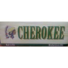 CHEROKEE MENTHOL GREEN 100'S