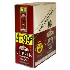 CLIPPER CIG. SWEET / 15-4pk-99c (15)