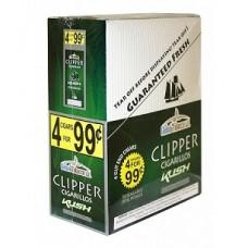 CLIPPER CIG. KUSH / 15-4pk-99c (15)