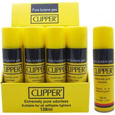CLIPPER YELLOW 7-LOOP REFINED BUTANE 170g / 12 Cans