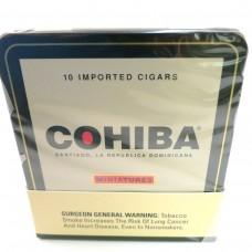 COHIBA MINIATURES/10-10 TINS