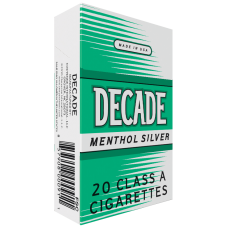 DECADE MENTHOL SILVER KINGS BOX