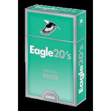 Eagle 20's Menthol Silver Box