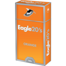 Eagle 20's Orange 100 Box
