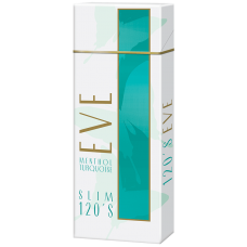 EVE SLIM MEN TURQUOISE 120'S BOX