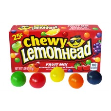 CHEWY LEMONHEAD FRUIT MIX  25c/24