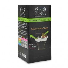 Fantasia NATURAL WOOD Hookah Charcoal / 10 - 9