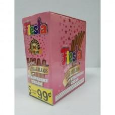FIESTA STRAWBERRY CREAM/15-5pk 99c