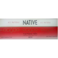 NATIVE RED 100'S BOX