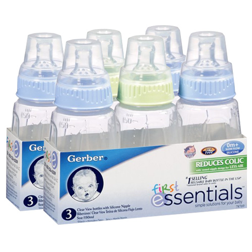 gerber 5oz baby bottles