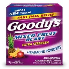 GOODY'S Cool Mixed Fruit/6-4pk