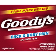 GOODY'S RED BACK & BODY PAIN/12-6pk