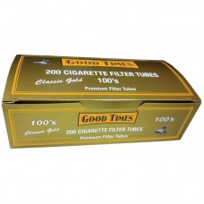 GOODTIMES GOLD 100's TUBES 200ct/5
