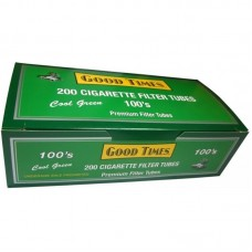 GOODTIMES GREEN 100's TUBES 200ct/5