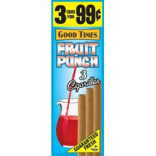 GOOD TIMES Cig. Fruit Punch/15-3pk-99c