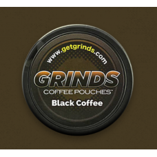 GRINDS COFFEE POUCHES B-VITAMINS BLACK COFFEE /10