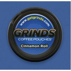 GRINDS COFFEE POUCHES B-VITAMINS CINNAMON ROLL /10
