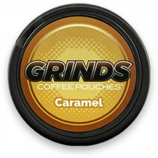 GRINDS COFFEE POUCHES B-VITAMINS CARAMEL /10