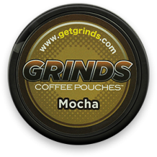 GRINDS COFFEE POUCHES B-VITAMINS MOCHA /10